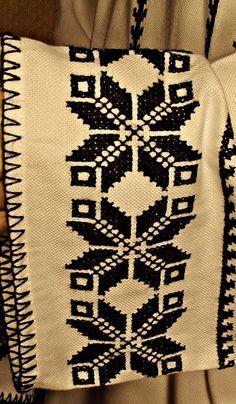 Cusaturi romanesti pe material de bumbac (matador)