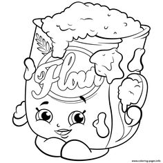 Shopkins Season 2 Coloring Pages Printable And Book To Print For Free Find More Online Kids Adults Of Baby Peacekeeper