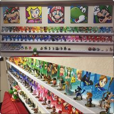 How to amiibo wall display amiibo news amiibo alerts for Gamer zimmer deko