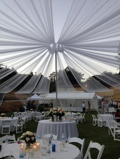 Best Party Rental Business ideas - Page 43 of 103 - Table and Chair Rentals Tent Wedding, Wedding Receptions, Wedding Events, Our Wedding, Wedding 2015, Wedding Stuff, Tent Decorations, Wedding Decorations, Planner Decorating