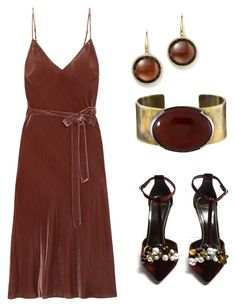"""""""Untitled #326"""" by mchlap on Polyvore featuring Frame, Roberto Coin, Orduna Design and Lanvin"""