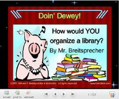 Mr. Breitsprecher's Dewey Challenge
