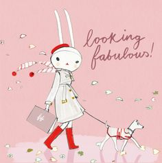 fifi lapin - looking fabulous!