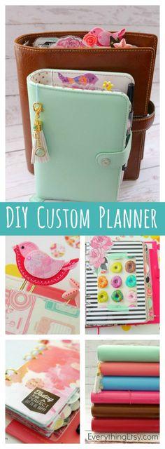 DIY Custom Planner -