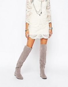 Thigh high boots | Over The Knee Boots | ASOS