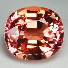 10.00 CTS. RARE BEAUTIFUL PADPARADSCHA SAPPHIRE OVAL GEMSTONE. START BID NOW $9.99