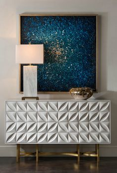 Ruan Wei's Blue Composition - Wall Decor - Mirrors & Wall Decor - Our Products