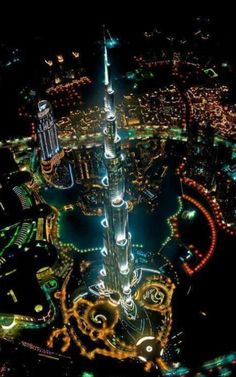 Tallest Building in the World,at Night | See More Pictures | #SeeMorePictures