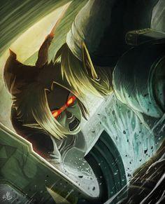Link vs Dark Link - The Legend of Zelda: Ocarina of Time