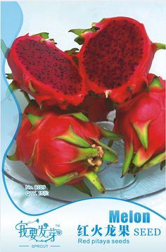 (Min. mix Order is $5.99)1 pack  High quality Pitaya seeds, Original package, Top quality Pitaya fruit seeds Free shipping