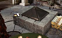 Fire Pit Kits- Enjoy a warm and cozy backyard fire with family and friends any time of year with 3 distinct Expocrete Fire Pit Kits. The fire pits are complete with easy to follow instructions and grill, allowing you to spend less time with set up and more time enjoying the outdoors and having a beautiful focal point of any backyard, acreage or cottage.