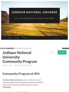 Jodhpur National University (JNU) was founded and established under the aegis of Kushal. Education Trust (KET) by Mr. Ketan Mehta who is the founder of the university.