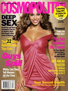 Cosmopolitan December 2007 #Beyonce