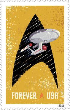 Star Trek ganha selos comemorativos pelos seus 50 anos | Omelete