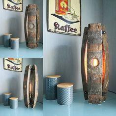 Bourbon Barrel Furniture, Wine Barrel Crafts, Barrel Projects, Wooden Diy, Dog Bed, Decoration, Furniture Making, Home Projects, Basement