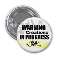 Join the Creative Revolution Creationz in - Button Pin Badges to ware with pride Pin Badges, Revolution, Pride, Join, Mindfulness, How To Get, Let It Be, Button, Creative