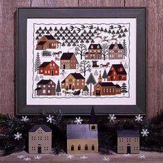 Christmas Village - Cross Stitch Pattern
