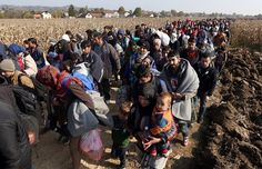 Refugees fleeing from Syria and ongoing efforts by European leaders to cope with the massive influx of asylum seekers.