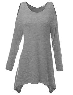 Doublju Knit Tunics in Fine Stretch Fabric GRAY (US-S) Doublju http://www.amazon.com/dp/B00HHKLTPG/ref=cm_sw_r_pi_dp_bpZOub08WCVQ5