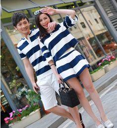 CC00429 Summer couples sets short sleeve shorts
