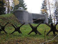 World War 2 Pill Boxes | Czech world war 2 pill box bunker