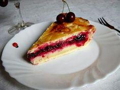 Házias konyha: Meggyes-vaníliakrémes amerikai pite