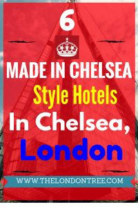 Top 6 Best Made In Chelsea Style Hotels In London, made in chelsea, chelsea, borough of kensington and chelsea, luxyry hotels, hotels, london, united kingdom, Sloane Square Hotel, The Egerton House Hotel, The Rembrandt, The Chelsea Harbour Hotel, My Chelsea, Sydney House Chelsea, Europe, Vacations, luxury travel, style.
