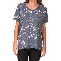 Religion Women's Cult Crew Neck Short Sleeve T-Shirt, Iron Grey, 10