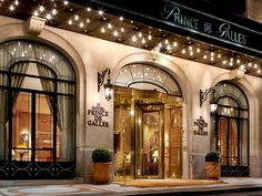 Hotel Prince de Galles (Luxury Collection), Paris: France Resorts : Condé Nast Traveler
