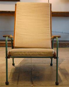 Jean Prouve Visiteur Lounge Chair , France 1942 image 3
