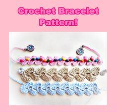 Crochet Bracelet Pattern OH