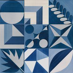 LR After Gio' Ponti tiles mix La Riggiola - vietri sul mare Gio Ponti, Tile Patterns, Textures Patterns, Patterned Furniture, Futuristic Furniture, Print Wallpaper, Tile Art, Art Plastique, Art Lessons