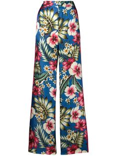 F.R.S For Restless Sleepers floral trousers - Blue