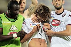 Alessio Cerci of Torino FC shows his dejection during the Serie A match between ACF Fiorentina and Torino FC at Stadio Artemio Franchi on Ma...
