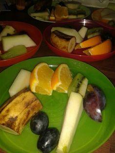 Väripaletti välipala lautasella, vitamiinipommi. :)