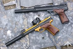 Browning Buckmarks with SWR Spectre Suppressors. pew pew.