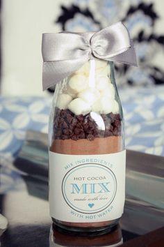Cocoa autumn wedding favors | fabmood.com