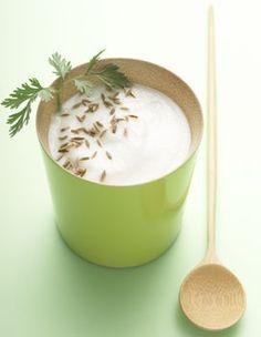 Velouté de chou-fleur au lait de coco pour 6 personnes - Recettes Elle à Table - Elle à Table