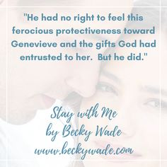 Stay with Me by Becky Wade is the first book in the Misty River Romance series. #Christian #inspirational #romance #fiction
