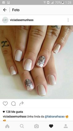 50 Trendy Fall Nail Art Design For 2019 50 Trendy Fall Nail Art Design For 2019 These trendy Nail Designs ideas would gain you amazing compliments. Check out our gallery for more ideas these are trendy this year. Nails Today, My Nails, Gucci Nails, Fall Nail Art Designs, Nails 2018, Manicure E Pedicure, Super Nails, Trendy Nails, Nails Inspiration