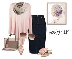 Pale Pink by godgirl18 on Polyvore featuring polyvore, fashion, style, Phase Eight, Rupert Sanderson, River Island, Chopard, Icebreaker, Forever 21 and clothing