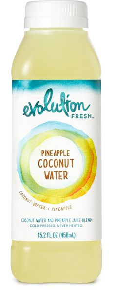 evolution fresh pineapple coconut water :: amazingly good!