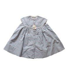 VINTAGE 50's / enfant / robe / coton texturé par Prettytidyvintage, €30.00