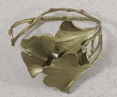 Silver Seasons - Michael Michaud - Gingko Cuff Bracelet $78