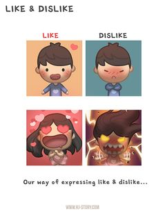 Love Facts : Picture Description HJ-Story :: Like & Dislike Loved & pinned by www. Hj Story, Cute Love Stories, Love Story, Ah O Amor, Cute Couple Cartoon, Chibi Couple, Likes And Dislikes, Love Facts, Cute Love Cartoons