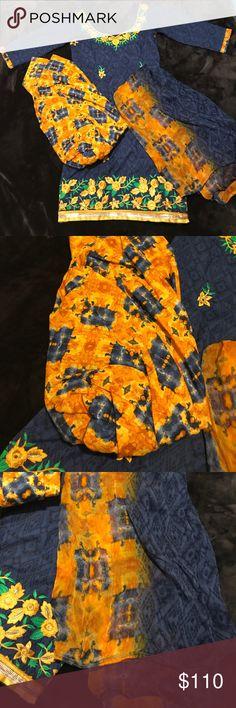 Floral print slawar suit Floral print indian suit Dresses
