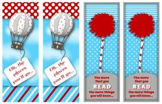 free dr. suess printables | FREE DR. SEUSS BOOKMARKS - PRINTABLE | Free Pretty PrintablesFree ...