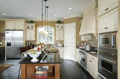 Open kitchen floor plan 119D-0013 | House Plans and More