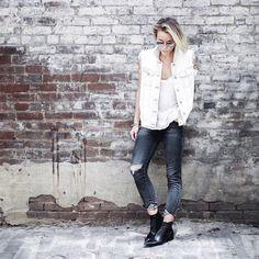 "Mary Seng on Instagram: ""variation from yesterday☁ @liketoknow.it www.liketk.it/1FBF0 #liketkit ️ (use code HGXAMO at www.modanashville.com to receive 10% off these jeans) #happilygrey"""