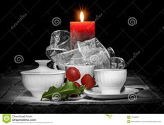 christmas-still-life-composition-black-background-two-white-cups-white-sugar-bowl-red-candle-green-holly-leaf-some-47556827.jpg (1300×994)